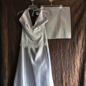 Scott McClintock fashion formal dress 14 lt blue